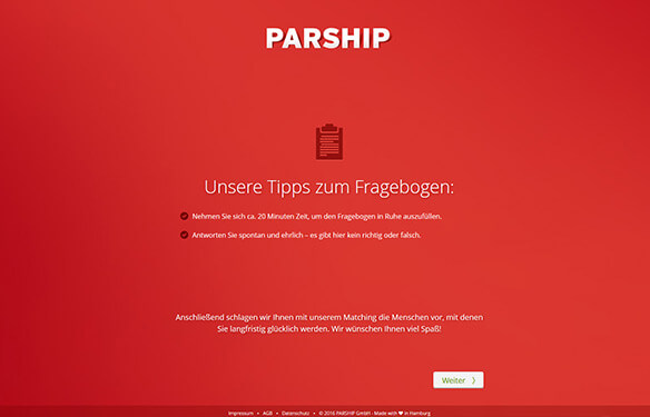 Tricks parship tipps parship review
