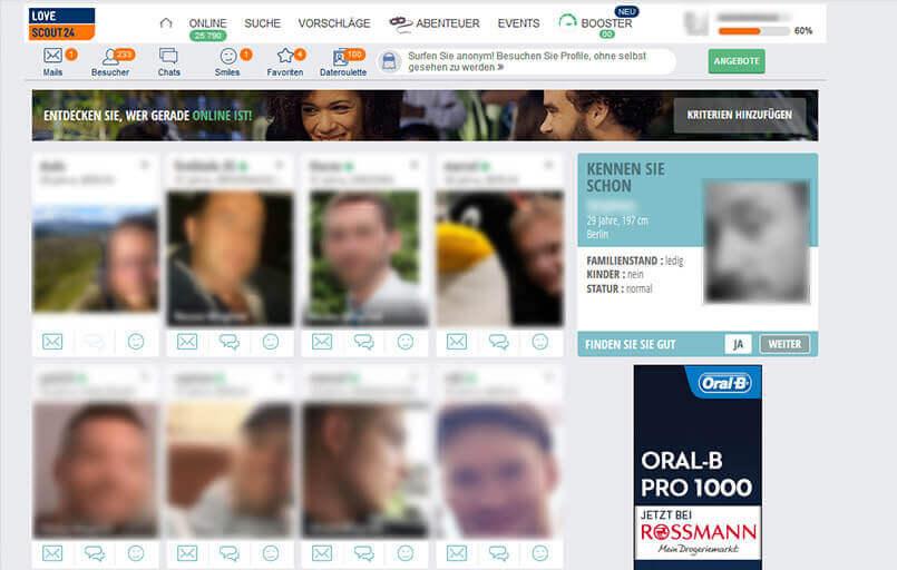Datating Website Marktanteil